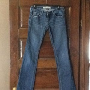 Jeans in 7 long and stretch. Venice boot cut.